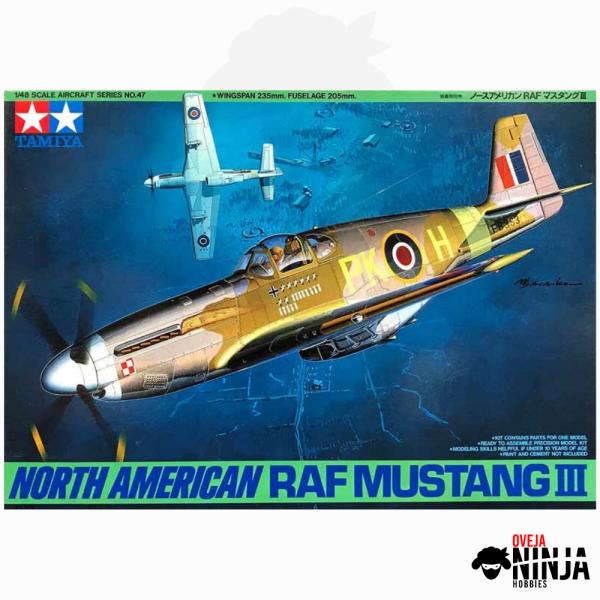 North American RAF Mustang III - Tamiya