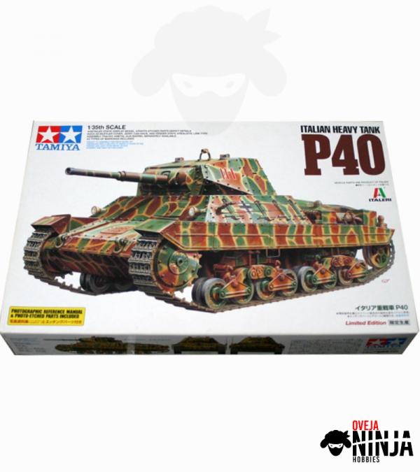 Italian Heavy Tank P40 Tamiya