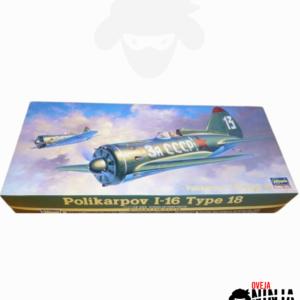 Polikarpov I-16 Type 18 Hasegawa