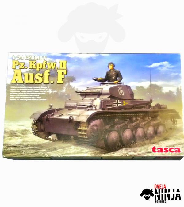 Pz Kpfw II Ausf F Tasca
