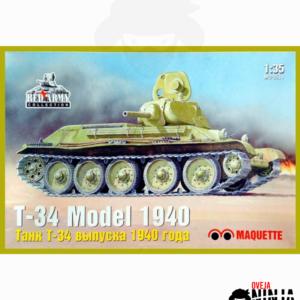 T-34 Model 1940 Maquette