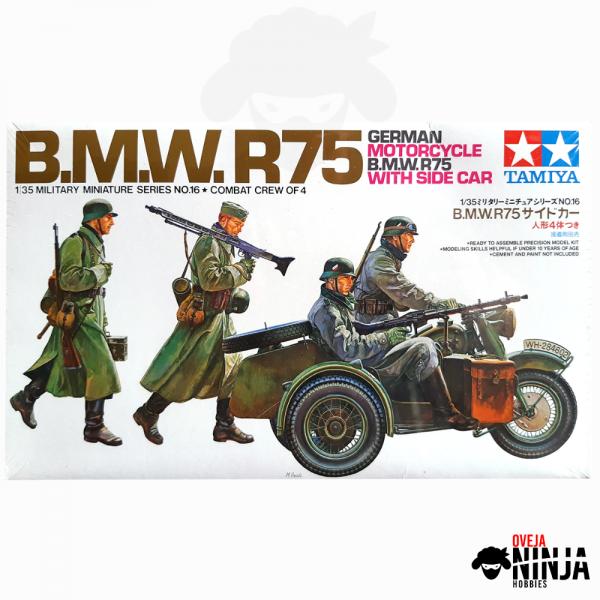 BMW R75 - Tamiya