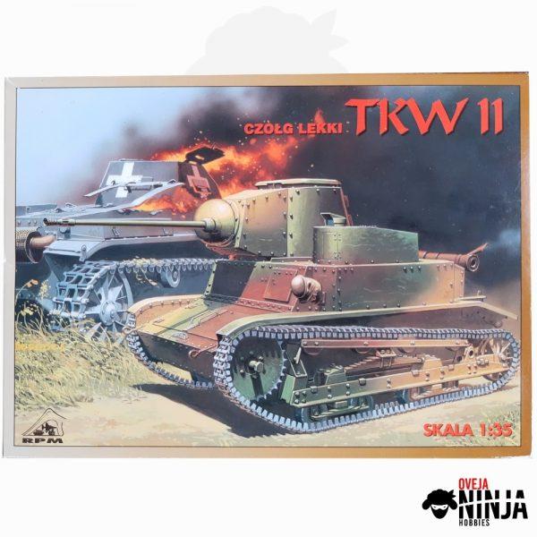 Czołg lekki Tanque Ligero TKW II - RPM