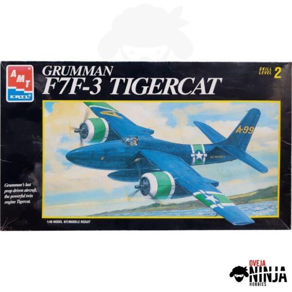 Grumman F7F-3 Tigercat - AMT