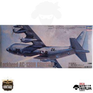 Lockheed AC-130H Gunship - Hasegawa