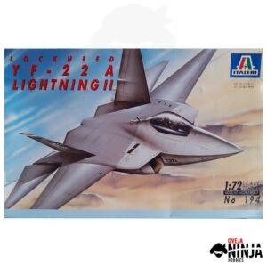 Lockheed YF-22 A Lightning II - Italeri