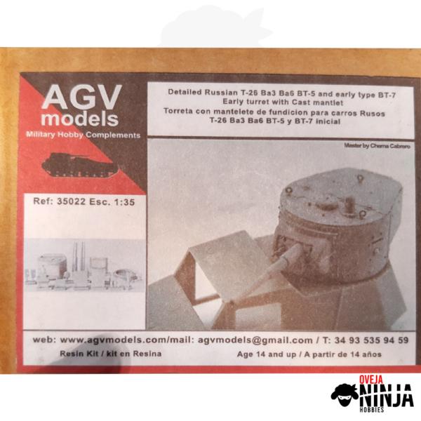 Torreta para carros Rusos - AGV Models