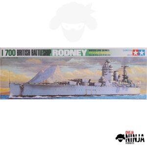 British Battleship Rodney - Tamiya